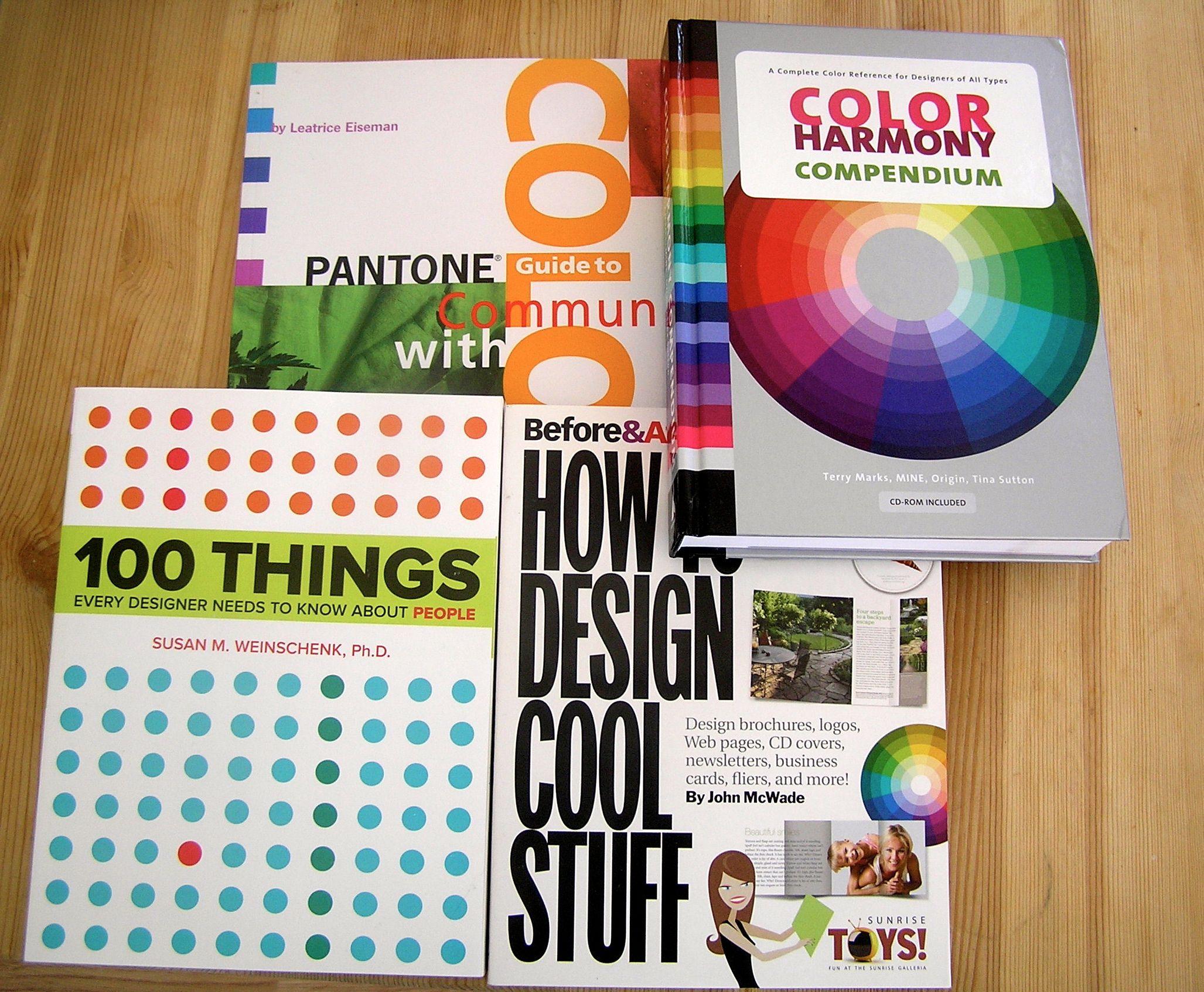 Книжки по психологии цвета
