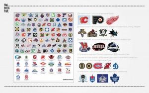 обзор логотипов хоккейных команд